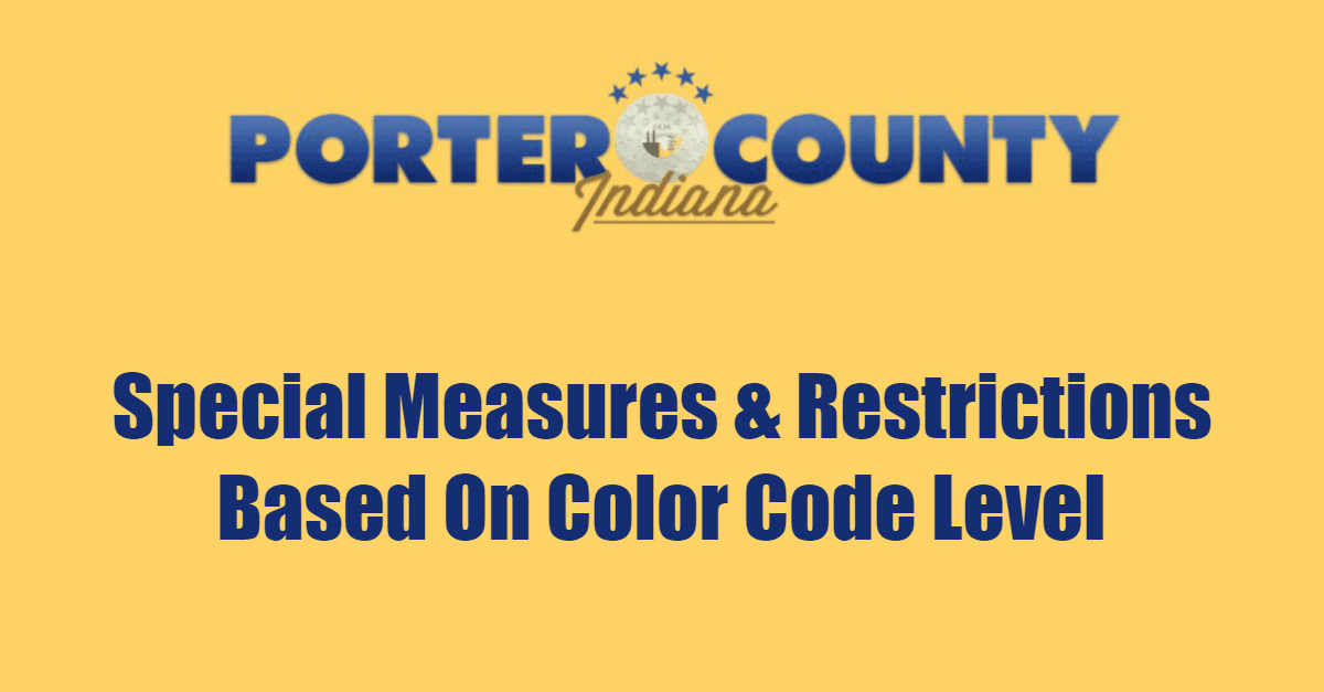 Special Measures & Restrictions Based On Color Code Level Page Banner