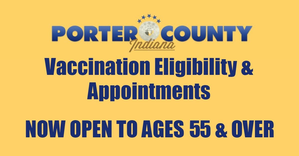Vaccination Eligibility 55 and over