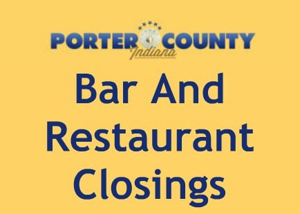 Bar and Restaurant Closings