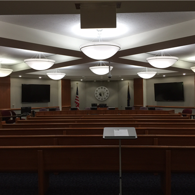 Commissioners Main Meeting Chambers