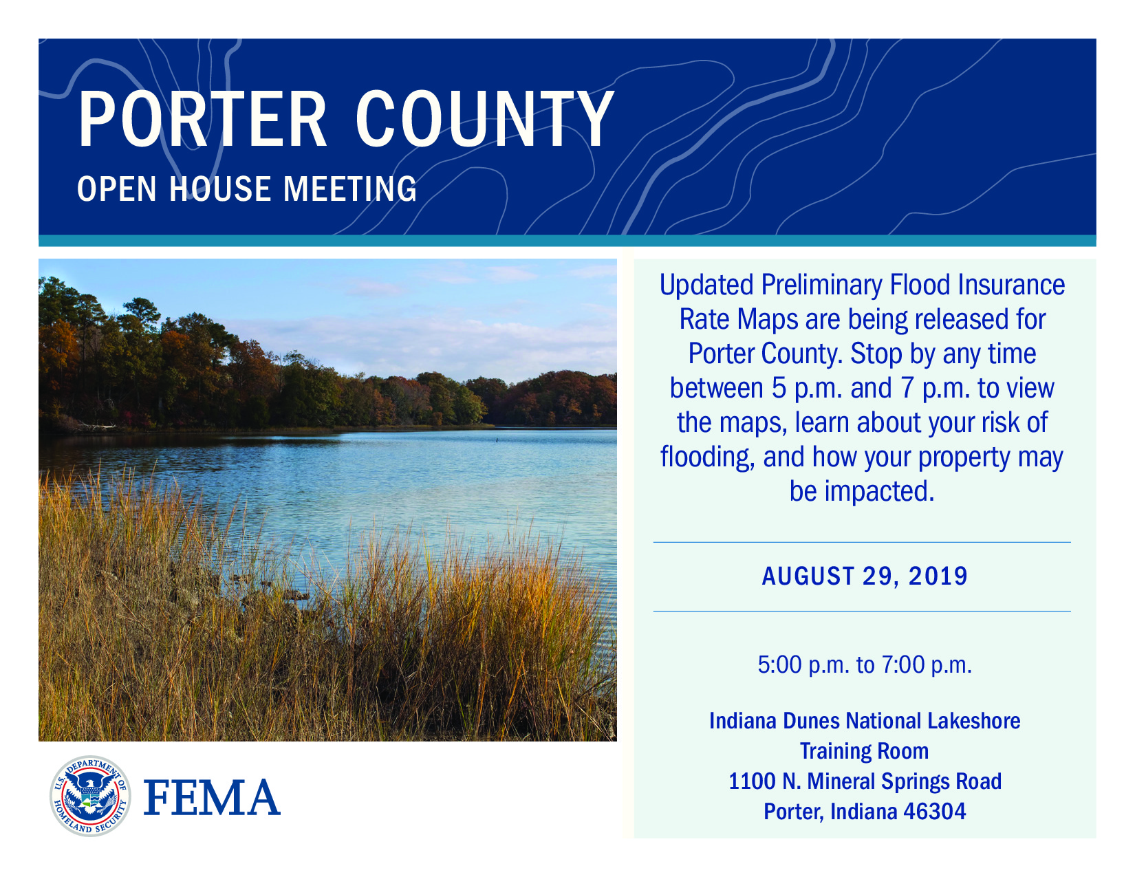 FEMA Open House Notice
