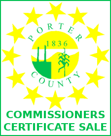Commissioners Certificate Sale