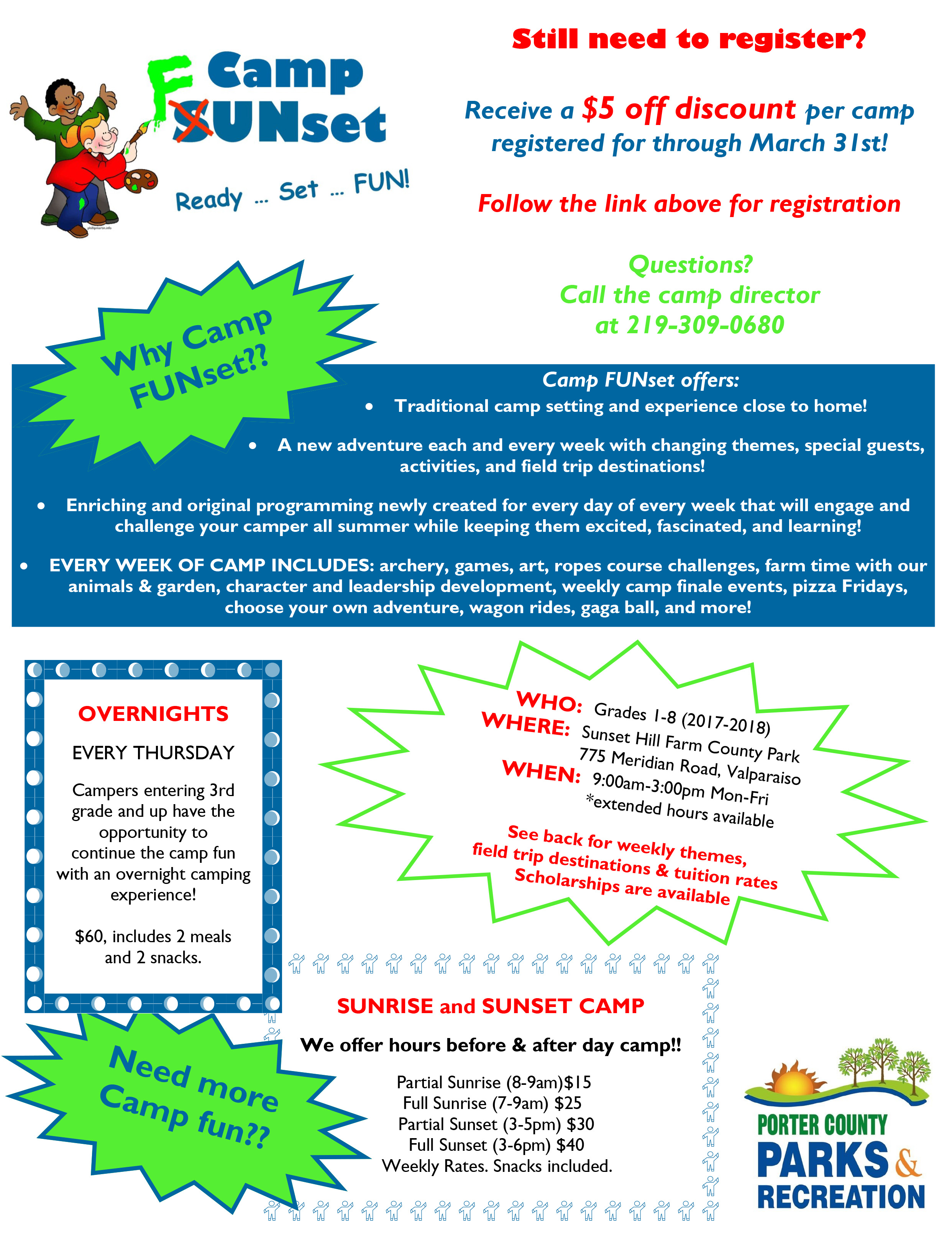 Camp Flyer Page 1