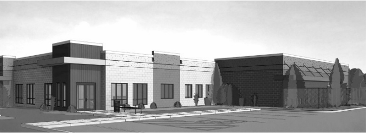 Artist Rendering of New Porter County Animal Shelter